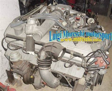 1981 Bmw M83/32 T/1 Engine (745 Turbo E23 Type M106) For