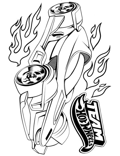 Hot Wheels Coloring Page Pinterest Hot Wheels