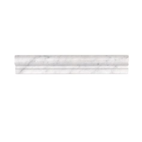 bianco carrara chair rail sale tile and source