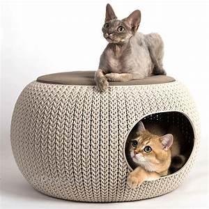 Kletterbaum Für Katzen : design katzenh hle von curver profeline katzenshop ~ Lizthompson.info Haus und Dekorationen