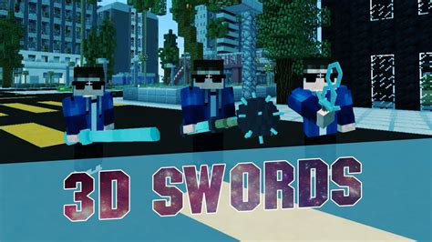 3d Sword Packs! Epic Minecraft
