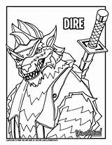 Dire Fortnite Draw Drawing Max Colouring Season Level King Ice Coloring Pages Print Too Drawittoo sketch template