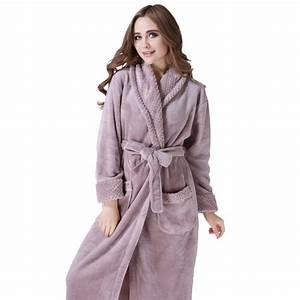 plush soft warm fleece bathrobe robe richie house With robes housses