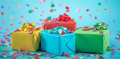 autour du cadeau les cadeaux d anniversaire