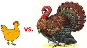 chicken vs turkey is an unfair fight jones