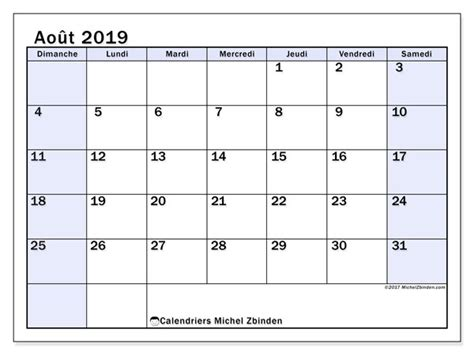 calendriers aout ds michel zbinden fr