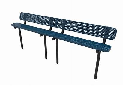 Bench Benches Perforated Thermoplastic Park Kay
