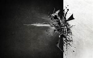 Contemporary Black And White Abstract Painting #6734 Hd ...