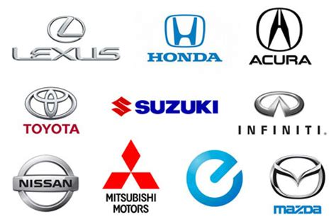 what car company makes mazda japanese car brands names list and logos of jdm cars