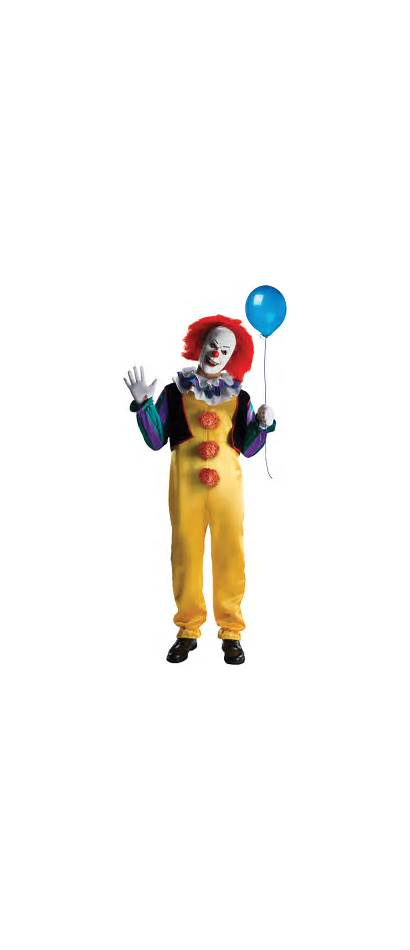 Pennywise Classic Clown Evil Characters Number Famous