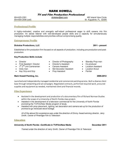 19170 exles of one page resumes exle of a one page resume exles of resumes