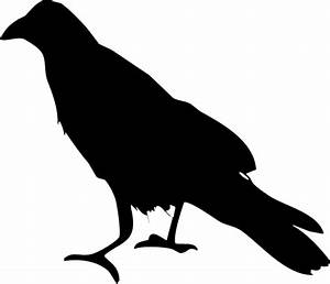 Raven Silhouette PNG by clipartcotttage on DeviantArt