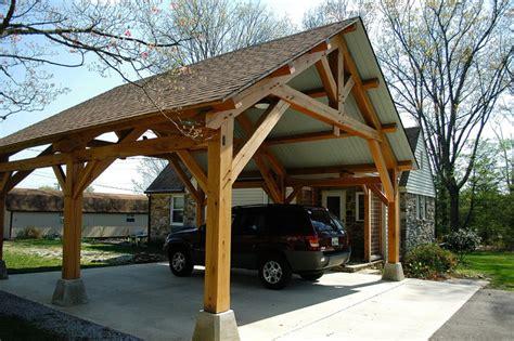 timber frame carports how to build timber frame carport designs pdf plans