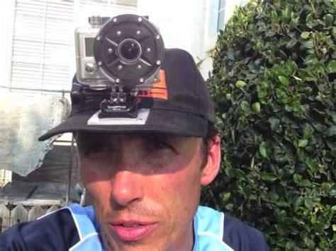 gopro camera ball cap mount jet ski fishing youtube