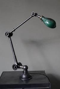 Lampe à Pétrole Ancienne Le Bon Coin : ancienne lampe applique industrielle dugdill designer john dugdill 1907 ~ Melissatoandfro.com Idées de Décoration