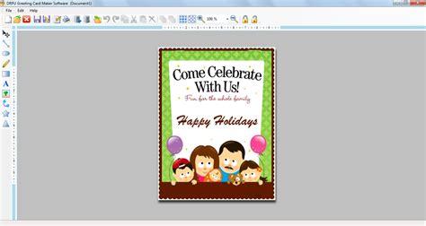 greeting card software design printable anniversary