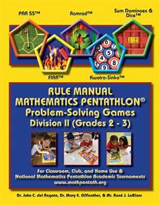 Pentathlon Institute Game Descriptions Division Ii