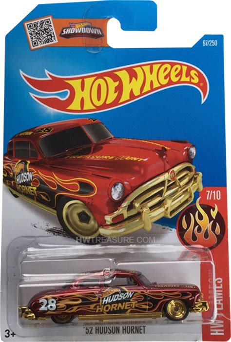 hudson hornet hot wheels  super treasure hunt