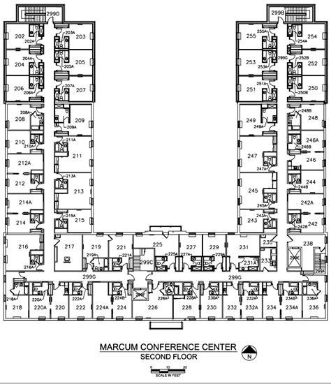 floor plans  marcum hdrbs miami university