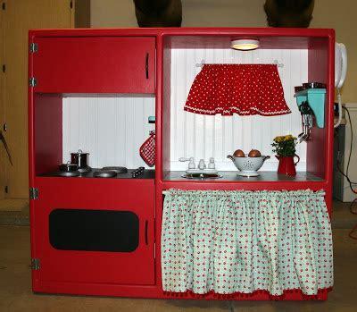 tv cabinet into play kitchen jubilation studios cutest idea child s play kitchen 8597