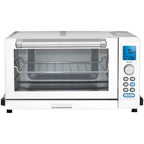 White Digital Toaster Oven by Cuisinart White Toaster Oven Broiler Tob 135w The Home Depot