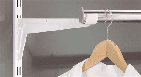Kleiderstange Dachschräge Befestigen by Kleiderstange F 252 R Schrank Wandmontage Regalraum