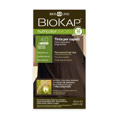 biokap nutricolor delicato rapid  natural brown hair dye