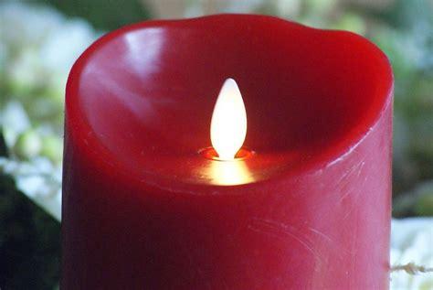 Luminara Led Kerze 8x23cm Rot Kaufen