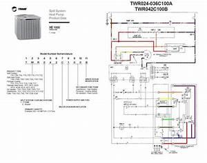 Trane Heat Pump Wiring Diagram Twn042c100a4