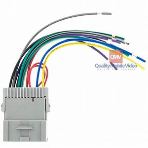 Metra 70-2002 Car Stereo Wiring Harness For 2000