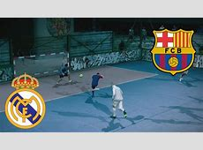 Fifa Street Gameplay Xbox 360 Barcelona vs Real Madrid