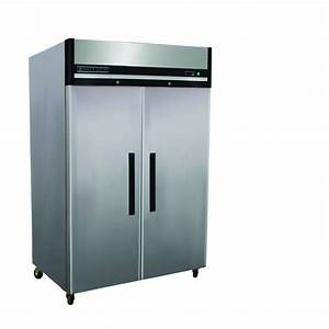 Maxx Cold X-Series 49 cu. ft. Double Door Commercial Reach ...