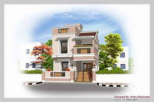 Elevation Designs For Duplex In India - OmahDesigns NET