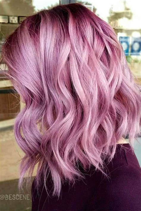 Colored Hair Ideas by 25 Beautiful Pink Hair Highlights Ideas On