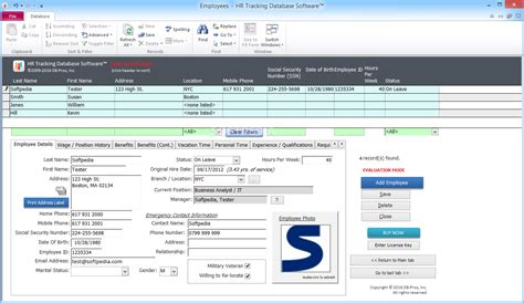 hr tracking  software