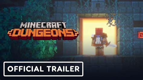 minecraft dungeons gameplay trailer   youtube