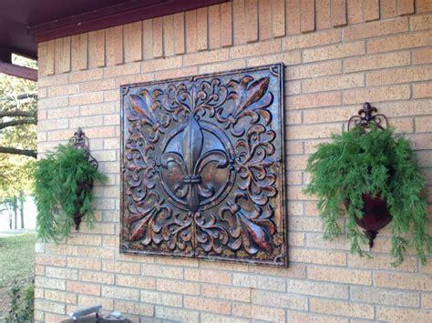 garden ridge metal wall decor