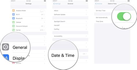 how to set time on iphone how to adjust the date time and timezone of your iphone