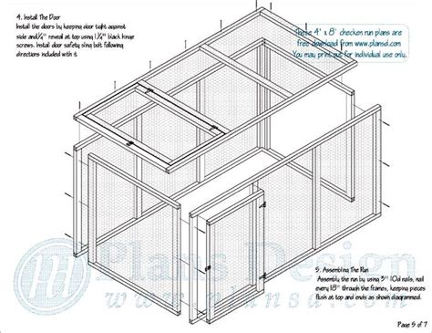 chicken run plans free chicken run plans chickens and things pinterest