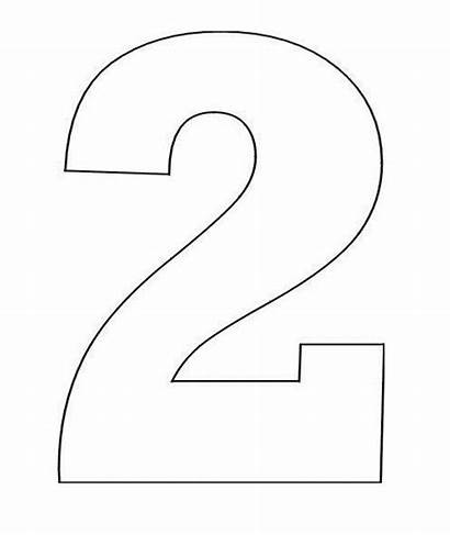 Number Printable Coloring Stencil Pages Numbers Sheets