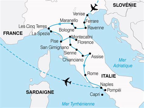 Carte Italie Ville Pise by Circuit En Italie Le Grand Tour D Italie 13 Jours