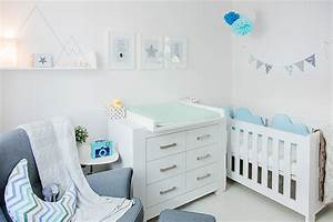Sterne Deko Kinderzimmer : babyzimmer hellblau grau ~ Markanthonyermac.com Haus und Dekorationen