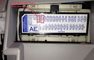 2010 Camry Fuse Box Inside