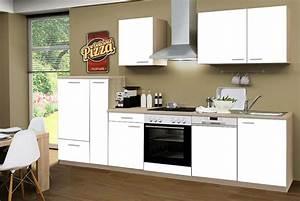 Kuchenzeile goteborg mit geschirrspuler und for Küchenzeile mit elektroger ten und geschirrspüler