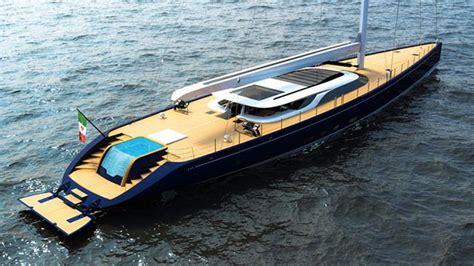 Последние твиты от scuderia ferrari (@scuderiaferrari). 52 m Blue Sapphire Sailing Yacht   wordlessTech