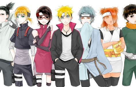 Wallpaper Naruto, Ninja, Shinobi, Hitaiate, Ninjaken