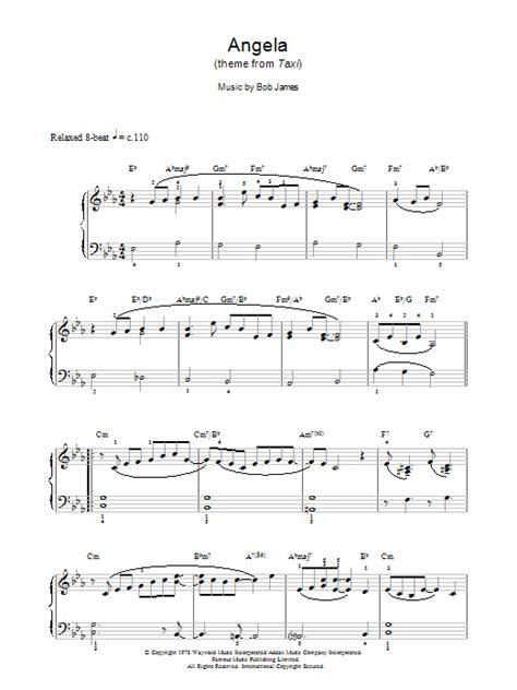 Taxi 3 english subtitles music : Angela Sheet Music | Bob James | Piano Solo