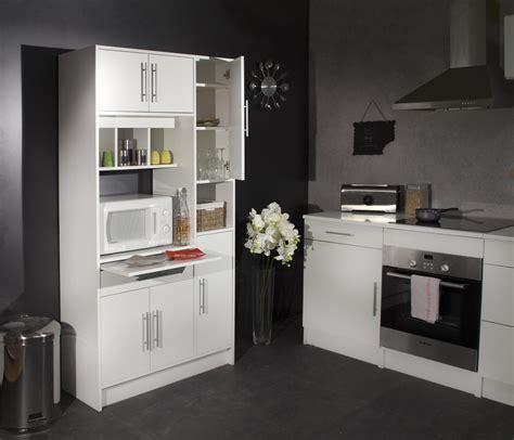 but cuisine meuble salle a manger complete blanc laque but