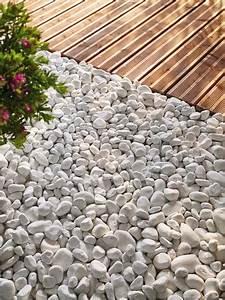 Dalle Stabilisatrice De Graviers Brico Depot : gravier de marbre blanc calibre 15 25 mm brico d p t ~ Dailycaller-alerts.com Idées de Décoration