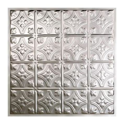 Tin Ceiling Tiles Home Depot by Great Lakes Tin Hamilton 2 Ft X 2 Ft Lay In Tin Ceiling